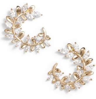 Serefina Crystal Vine Earrings