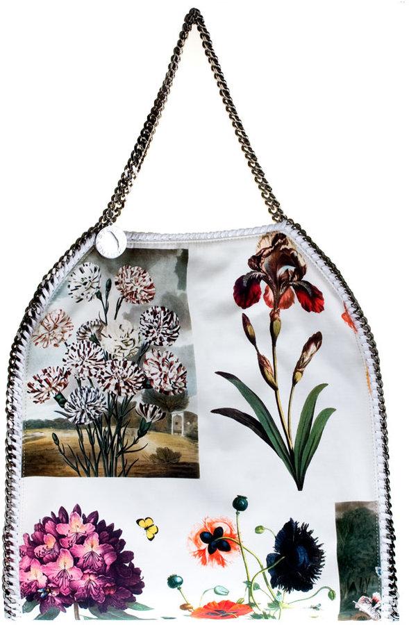 Stella McCartney Botanical-print Falabella tote