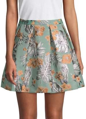 Paul & Joe Sister Women's Crysalide Pleated Palm Skirt