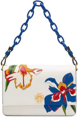Tory Burch Kira floral double strap shoulder bag