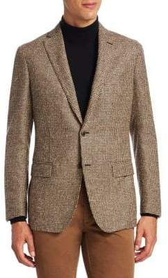 Saks Fifth Avenue COLLECTION Textured Slim-Fit Jacket