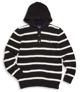 Ralph Lauren Toddler's, Little Boy's & Boy's Striped Hoodie $69.50 thestylecure.com