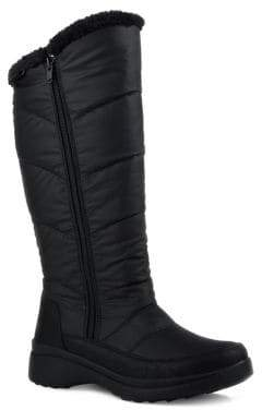 London Fog Pina II Waterproof Faux Fur Polar Plush Lined Boots
