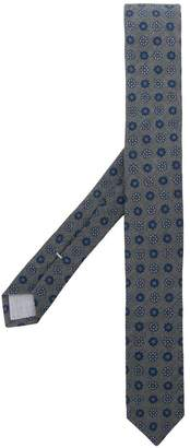 Eleventy floral embroidery tie