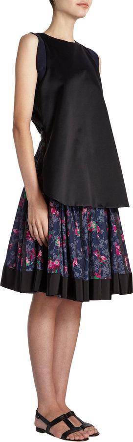Sacai Two-Piece-Look Dress