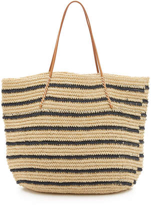 Hat Attack Twisted Stripe Tote $95 thestylecure.com