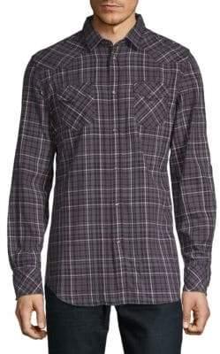 Diesel Plaid Button-Down Shirt