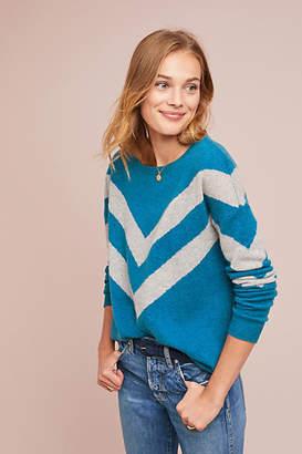 Charli Chevron Cashmere Pullover
