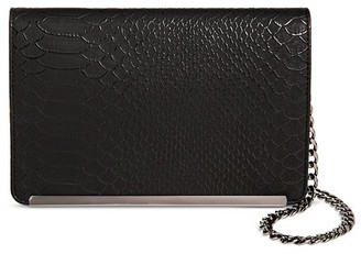 Mossimo Women's Faux Leather Chain Crossbody - Mossimo $18.99 thestylecure.com
