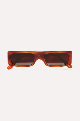Andy Wolf - Hume Square-frame Tortoiseshell Acetate Sunglasses - Brown