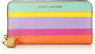 Marc Jacobs The Grind Colorblocked Leather Continental Wallet