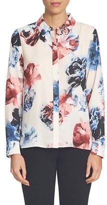 Women's Cece Floral Print Blouse $89 thestylecure.com