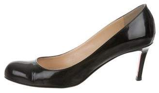 Christian Louboutin Patent Leather Simple Pump