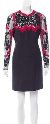 Valentino Beaded Mini Dress
