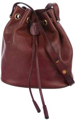 Cartier Leather Bucket Bag