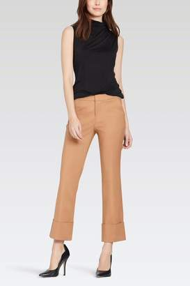 Ecru Wide Cuff Trouser