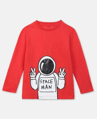 Stella McCartney Spaceman Cotton T-Shirt, Men's