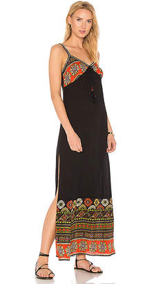 Band of Gypsies Cabo Maxi Dress in Black $98 thestylecure.com
