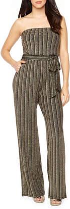 06749aaf142 PREMIER AMOUR Premier Amour Strapless Glitter Knit Jumpsuit