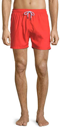 Trunks Retromarine Solid Neon Swim Trunks, Orange