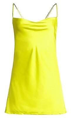 For Love & Lemons Women's Neon A-Line Mini Dress