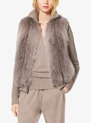 Michael Kors Fox Fur Vest