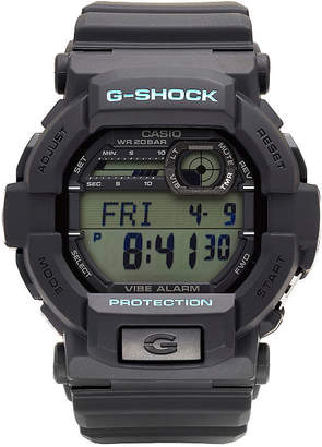 G-Shock G SHOCK Mens Black Strap Watch-Gd350-1c