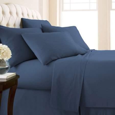 Balancesun Fine Linens Extra Deep Pockets Quilt Cover Kit 6 Piece Bed Sheet Set Ergonomic Design Bedding Sheet Kit Home Textile