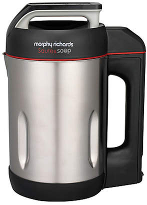 Morphy Richards Sauté and Soup Maker - Stainless Steel