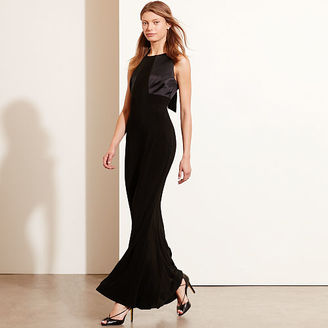 Ralph Lauren Open-Back Jersey Gown $230 thestylecure.com