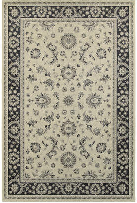 "Richmond Oriental Weavers Pira Ivory/Navy 1'10"" x 3' Area Rug"