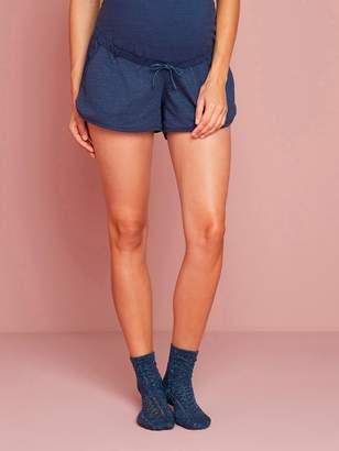 Vertbaudet Maternity Fleece Shorts