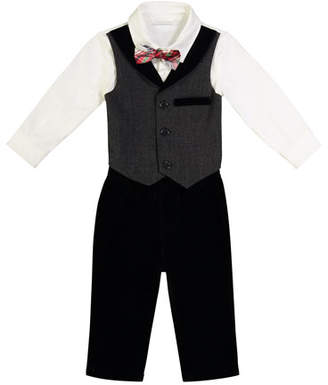 Andy & Evan Two-Piece Suit Set, Size 0-24 Months
