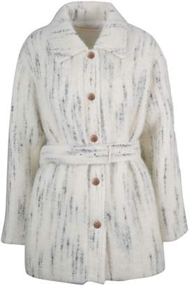 See by Chloe Single-breasted Belted Waist Coat
