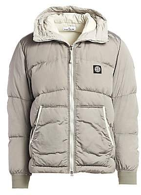 Stone Island Men's Hooded Puffer Jacket