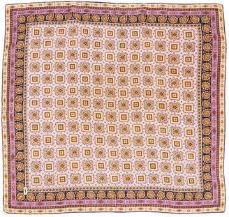 Saint Laurent Vintage Purple Silk Silk handkerchief