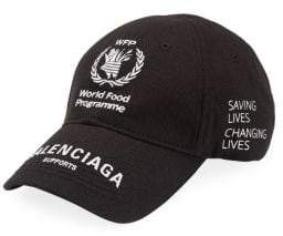 Balenciaga Embroidered Logo Hat