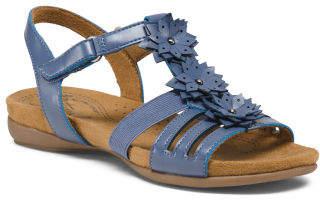 Footbed Floral Comfort Sandals