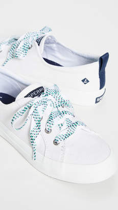 Sperry Crest Vibe Checkered Lace Sneakers