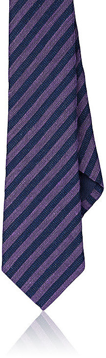 Barneys New YorkBarneys New York Men's Striped Silk-Blend Necktie