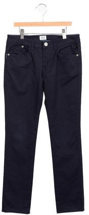 Armani JuniorArmani Junior Boys' Mid-Rise Straight-Leg Pants