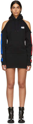 Marcelo Burlon County of Milan Black NBA Edition Hooded Dress