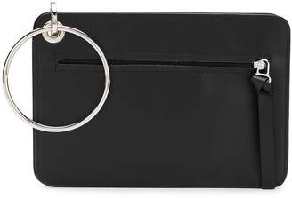 MM6 MAISON MARGIELA contrast clutch bag