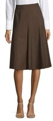 Lafayette 148 New York Classic A-Line Skirt