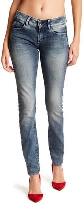 G-STAR RAW Midge Acid Wash Skinny Jeans