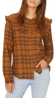 Sanctuary Hill St. Ruffled Plaid Shirt