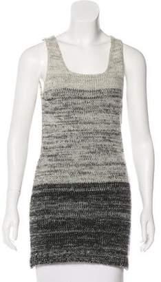 Dolce & Gabbana Sleeveless Wool Knit Dress