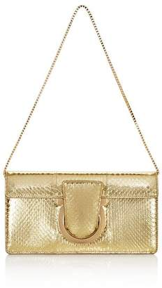 Salvatore Ferragamo Thalia Small Snakeskin Shoulder Bag