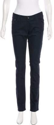 Armani Junior Girls' Low-Rise Straight-Leg Jeans w/ Tags