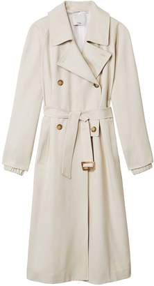 Tibi Double Breasted Trench